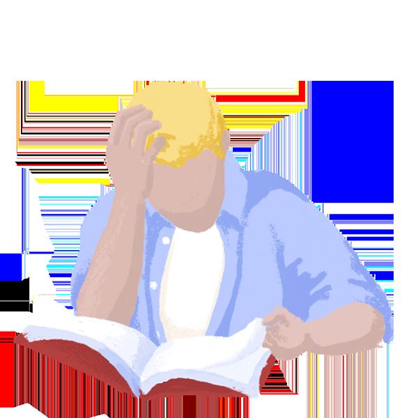 סטודנט לומד